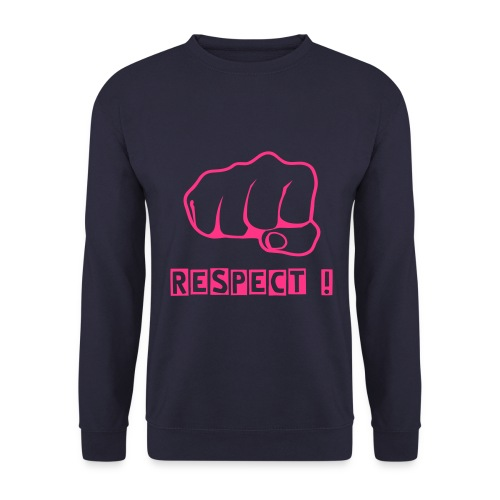 'Respect' Sweatshirt - Men's Sweatshirt