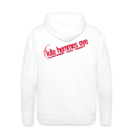 Sweat-shirts ~ Sweat-shirt à capuche Premium pour hommes ~ Hoodie White & Red