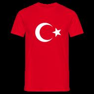 T-Shirts ~ Männer T-Shirt ~ Nationalshirt Türkei