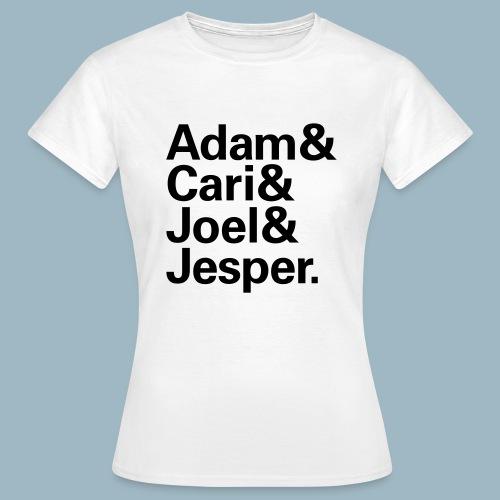 Swedish Techno Heroes (Gals) - Women's T-Shirt