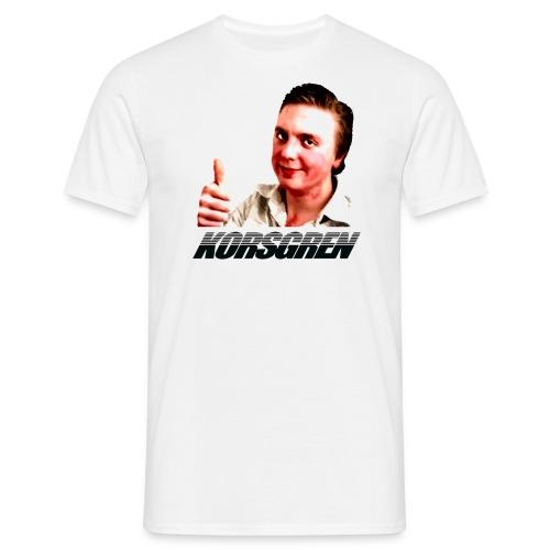Korsidents Vanlig - T-shirt herr