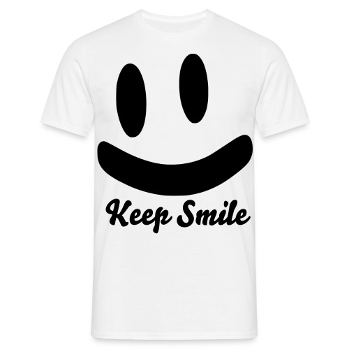 Keep Smile Men - Männer T-Shirt