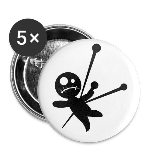 Lot de 5 grands badges (56 mm)