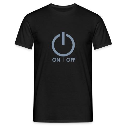 Power off Black - Maglietta da uomo