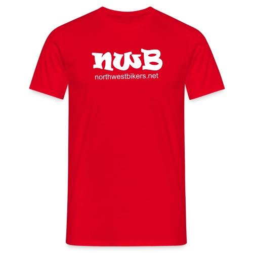 Men's T-Shirt - Red/White - Men's T-Shirt