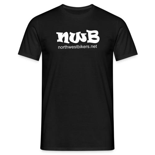 Men's T-Shirt - Black/White - Men's T-Shirt