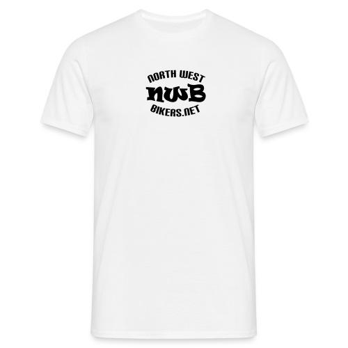 Men's T-Shirt - White/Black - Men's T-Shirt