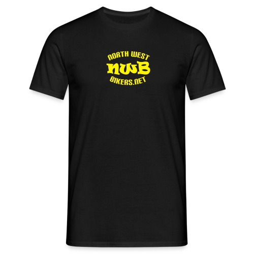 Men's T-Shirt - Black/Yellow - Men's T-Shirt