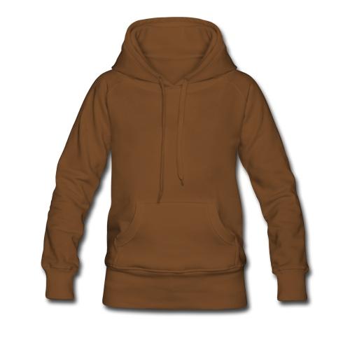 camiseta fútbol - Sudadera con capucha premium para mujer