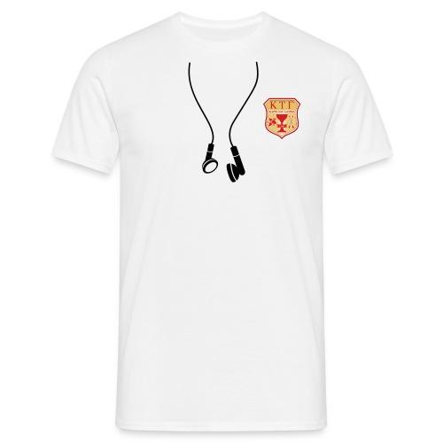 Kappa Tau Gamma Ecouteur et logo - T-shirt Homme