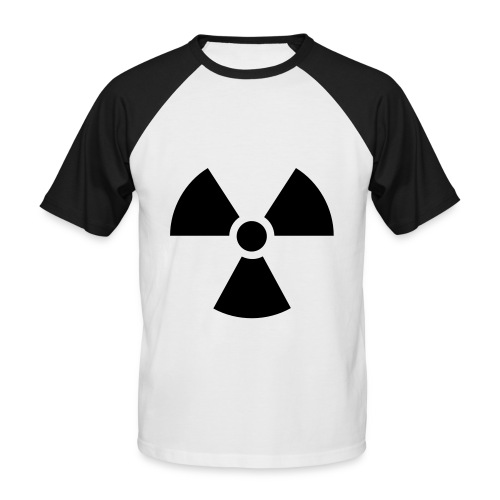 T-Shirt Radioactif - T-shirt baseball manches courtes Homme