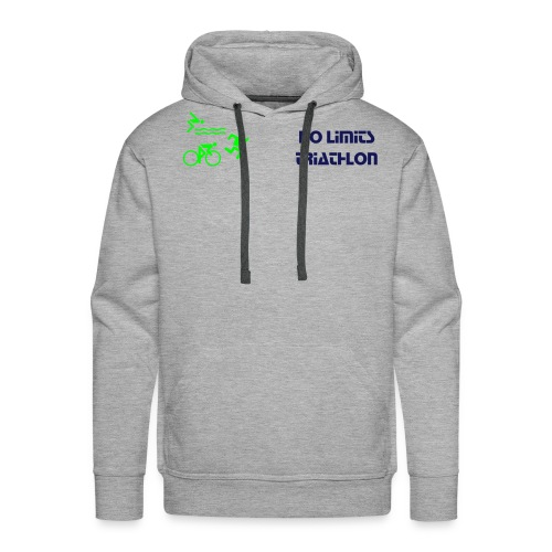 No Limits Triathlon Team Shirt - Men's Premium Hoodie