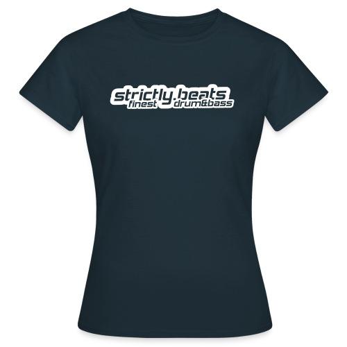Frauen Shirt klassisch navy - Frauen T-Shirt