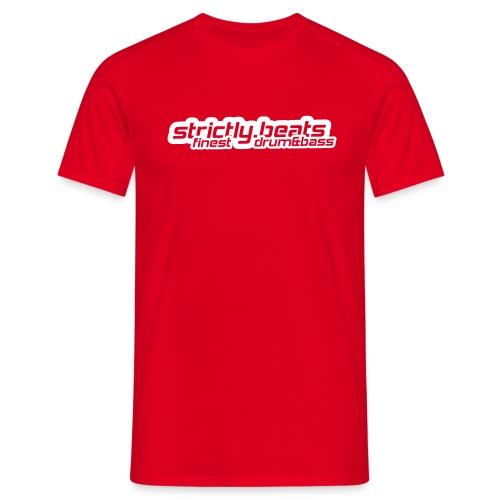 Shirt klassisch rot - Männer T-Shirt