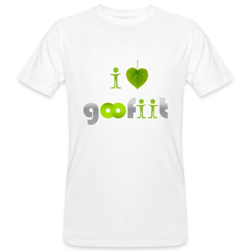 I like GooFiiT face - T-shirt bio Homme