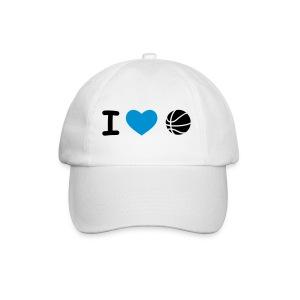 Cap: I Love Basketball - Baseballcap