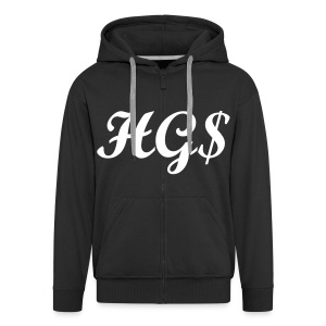 High Grade Status Zipped Hoodie Standard - Men's Premium Hooded Jacket