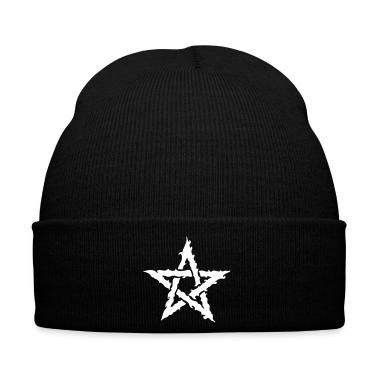 Black The pentagram Caps & Hats