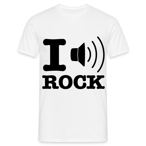 iluvrock - Men's T-Shirt