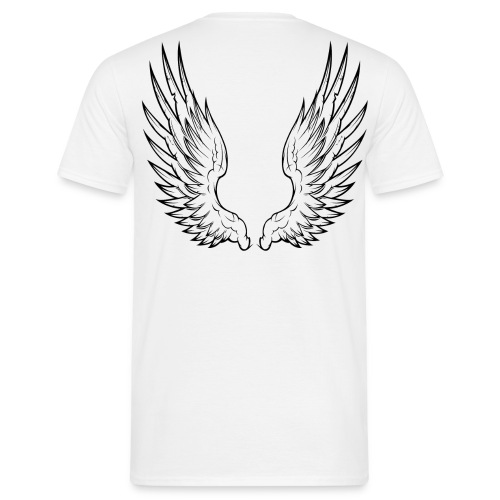 Angel Wings - Mannen T-shirt
