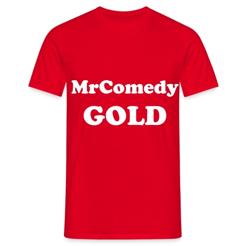 MrComedyGold Mens Shirt - Men's T-Shirt