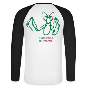 Mannen baseballshirt lange mouw - Vergeet je naam niet in te vullen! (of weghalen van de shirt!)