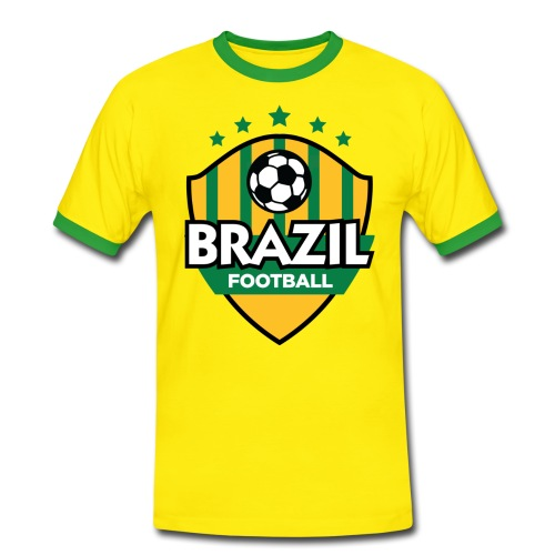 FFC Support Brazil - Men's Ringer Shirt