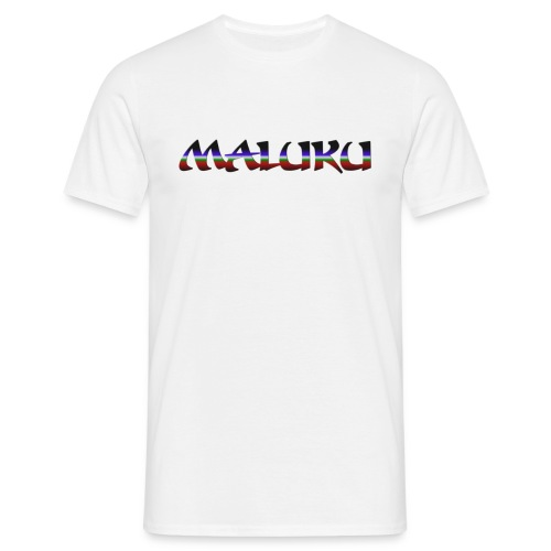 Badju Maluku Putih - Mannen T-shirt