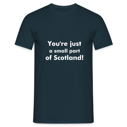 Scotland basic - Men's T-Shirt