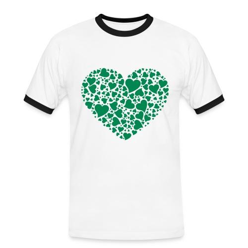 T-shirt Cuore Brasil da uomo - Maglietta Contrast da uomo