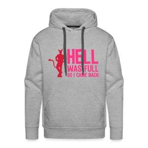 Hell. - Mannen Premium hoodie