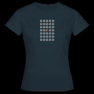 T-Shirts ~ Women's T-Shirt ~ smenticweb_women_blue_shirt