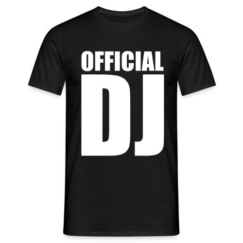 Official DJ - Tee - Men's T-Shirt