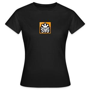 svg_women_black_shirt - Women's T-Shirt