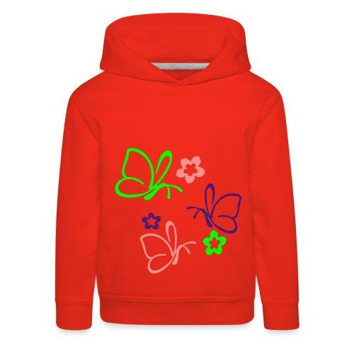 Mädchen Pulli - Kinder Premium Hoodie
