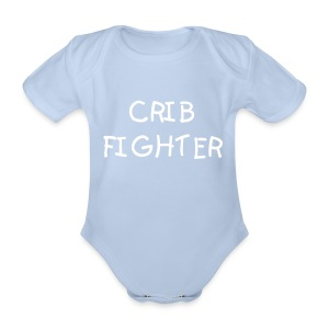 Crib Fighter Baby Grow - Organic Short-sleeved Baby Bodysuit