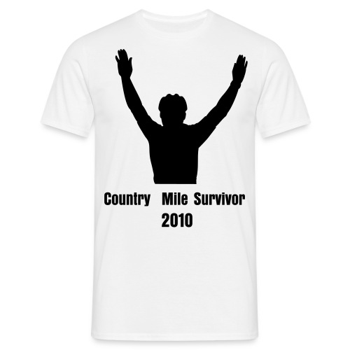 Country mile 2010 - Men's T-Shirt