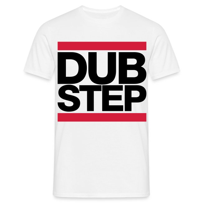 "Black and red ""DUBSTEP"" T-shirt"
