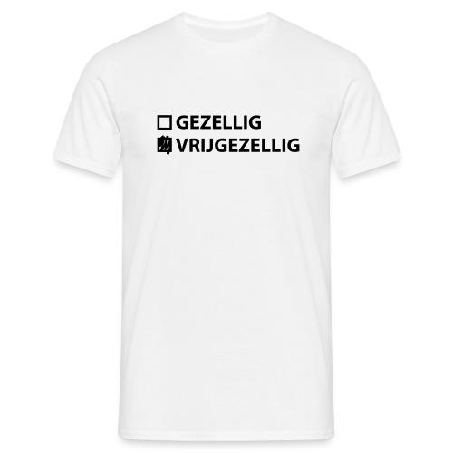 Landmacht T-shirt Opengesneden - Mannen T-shirt