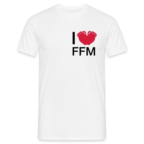 I Love FFM (Bembel-Edition) - Männer T-Shirt