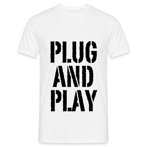Plug and play - T-shirt Homme
