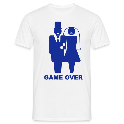 Game over Married - Men's T-Shirt