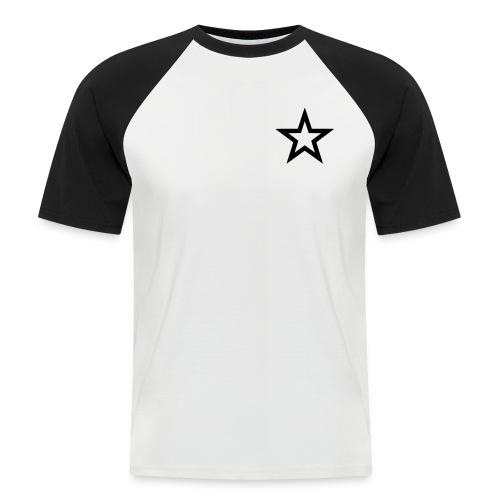 Hart aber Eddy - Männer Baseball-T-Shirt
