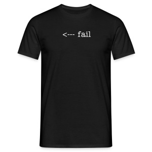 fail male - Männer T-Shirt
