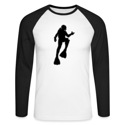 Plongeur - T-shirt baseball manches longues Homme