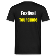 T-shirts ~ Mannen T-shirt ~ Lowlands Tourguide - Heren