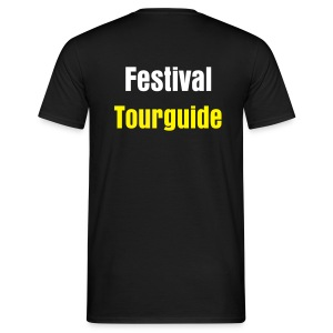 Lowlands Tourguide - Heren - Mannen T-shirt