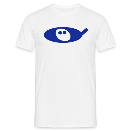DHP blue 2 - Mannen T-shirt