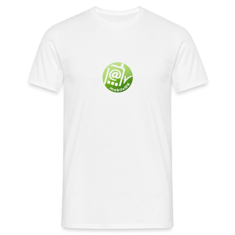 MWI_white_shirt - Men's T-Shirt