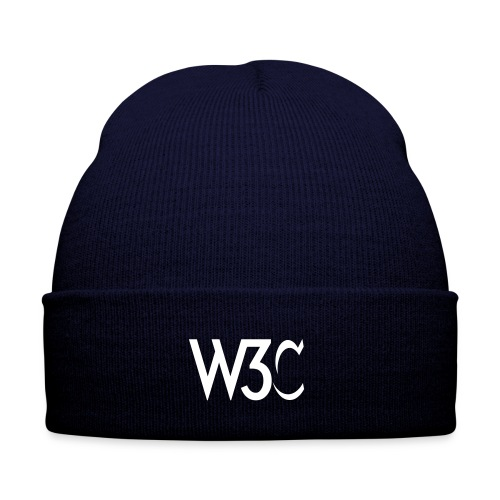 w3c_blue_beanie - Winter Hat